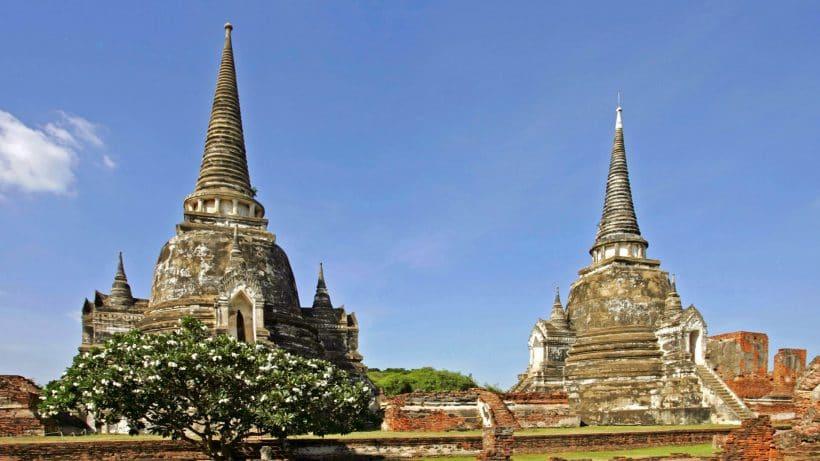 Thailand Siam Ayutthaya Wat Phra Si Sanphet Asien